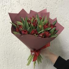 Букет тюльпанов 25шт.