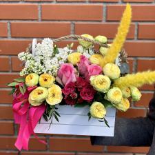Ящик с цветами 1449