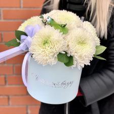 Хризантемы в шляпной коробке L 1709