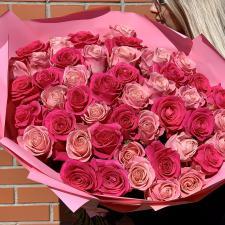 Букет из 51 розы микс 1717
