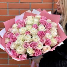 Букет из 51 розы микс 1769