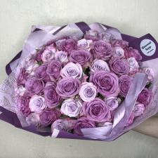 Букет из 51 фиолетовой розы 548