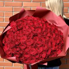 Букет из 101 красной розы 568